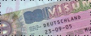 национальную визу в Германию