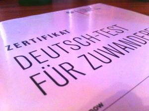 сертификат немецкого языка B1 DTZ