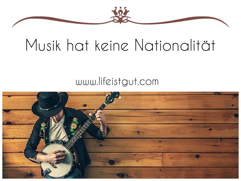 Музыка, музыкальные инструменты и профессии на немецком языке.Musik hat keine Nationalität