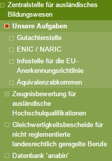 ZAB подтверждение диплома в Германии и его оценка