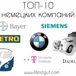 Известные немецкие компании: ТОП-10