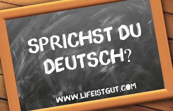 Выучить немецкий с нуля Sprichst Du Deutsch