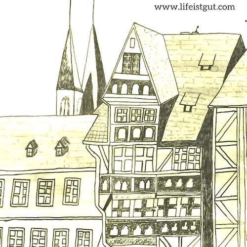 Немецкий Фахверк или Сказочные домики Германии