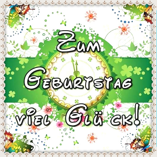 Классные Поздравления С Днем Рождения По-Немецки!