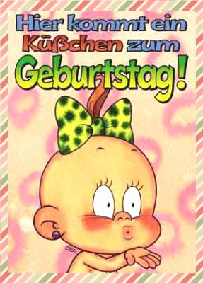 милые Поздравления С Днем Рождения На Немецком Языке