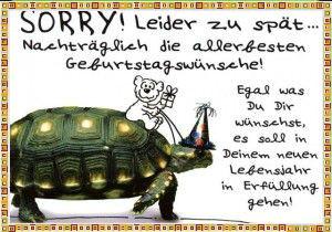 с опозданием Поздравления С Днем Рождения На Немецком Языке
