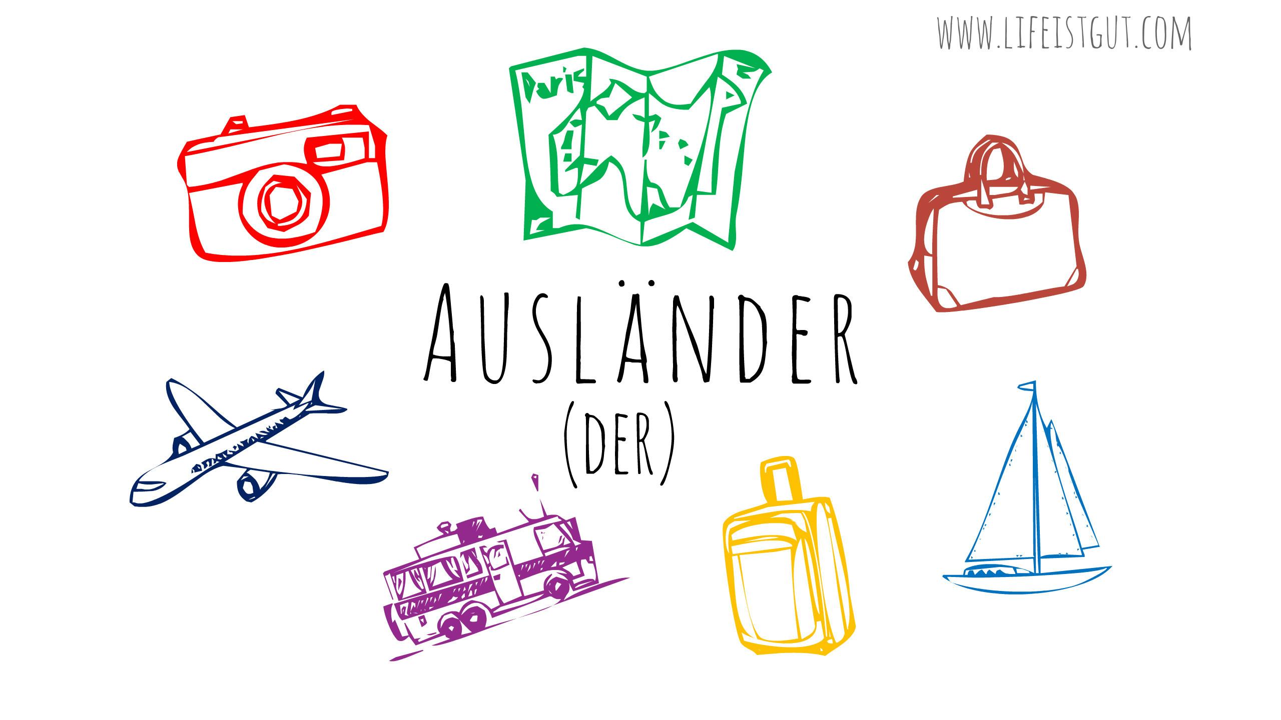 Иностранцы в Германии: Как меняется поведение и какие новые привычки приобретает иностранец, переехавший в Германию aus-la%cc%88n-der