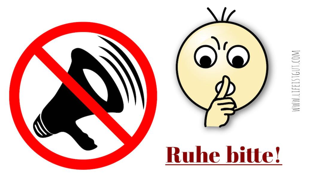 Иностранцы в Германии: Как меняется поведение и какие новые привычки приобретает иностранец, переехавший в Германию ruhe-bitte