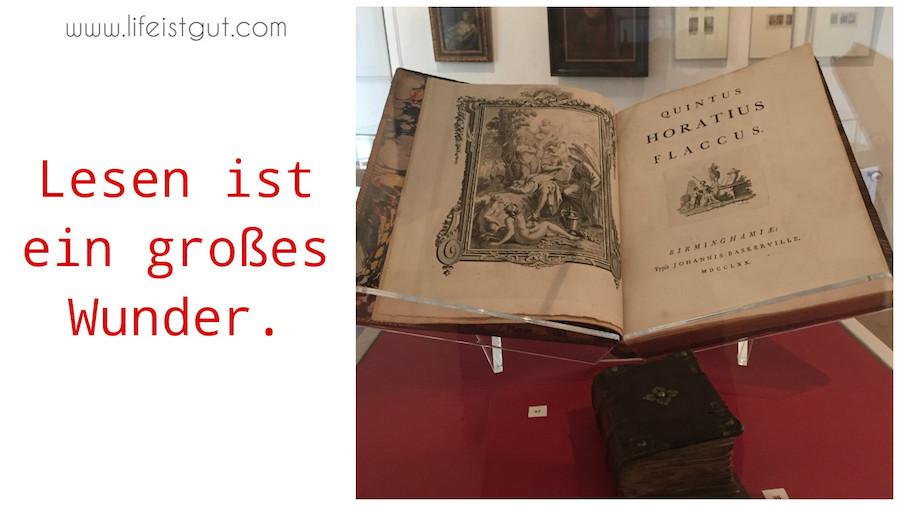 Чтение на немецком языке Lesen ist ein grosses Wunder