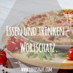Essen und trinken — Wortschatz. Немецкая лексика, диалоги и рецепты!