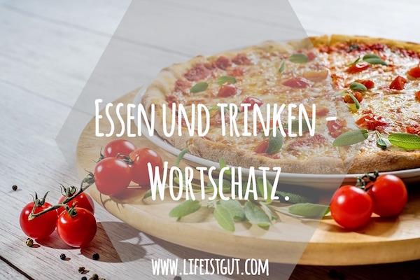 Essen und trinken Wortschatz. Немецкая лексика, диалоги и рецепты!