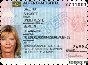 Получение ВНЖ в Германии