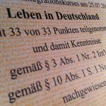сертификат немецкого языка Orientierungstest Leben in Deutschland