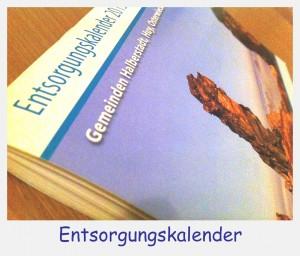 выбросить старые вещи - Entsorgungskalender