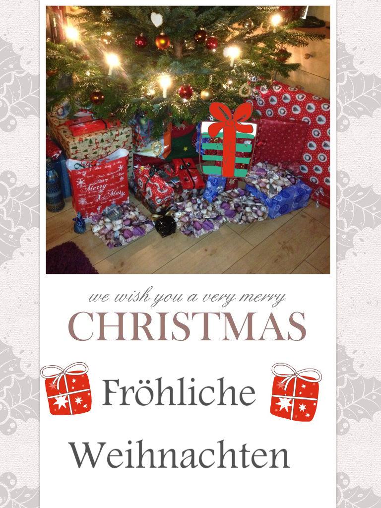 Открытка с рождеством на немецком языке с переводом