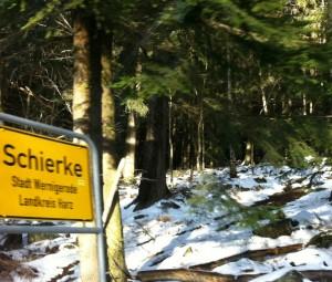Гора Брокен (Brocken) в Германии: Сказочное зимнее путешествие, Ширке Schierke