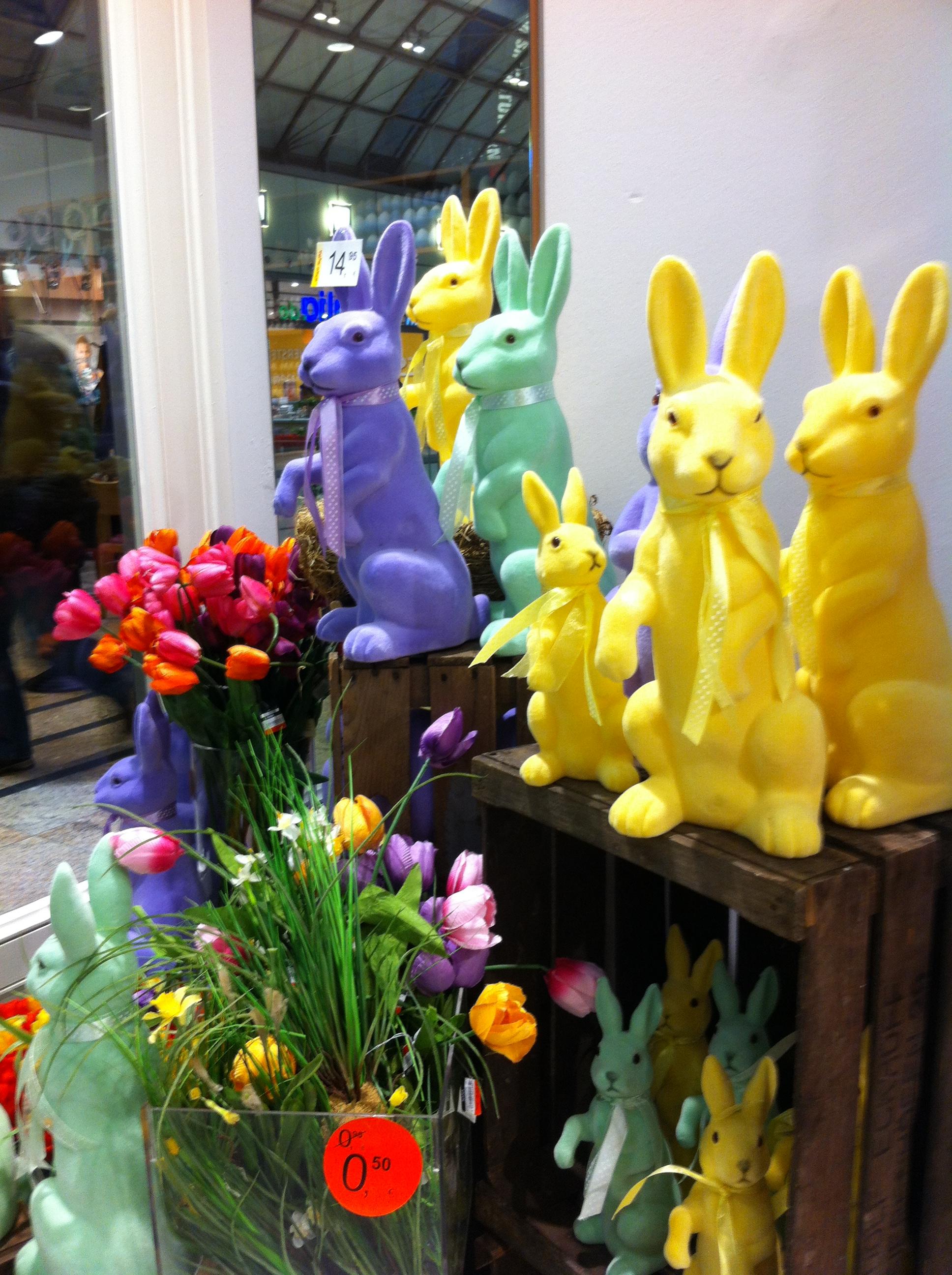 немецкая Пасха 2015 пасхальные зайцы