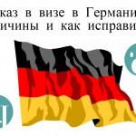 Отказ в визе в Германию: причины и следствия