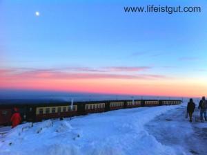 Мой пеший поход в гору зимой в Германии: гора Брокен и лесная зимняя сказка!