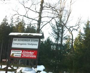 Мой пеший поход в гору зимой в Германии:Ширке