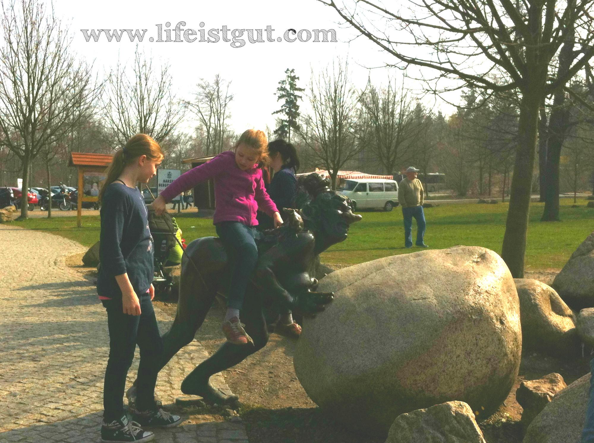 Национальный парк Гарц Тале ведьмочка