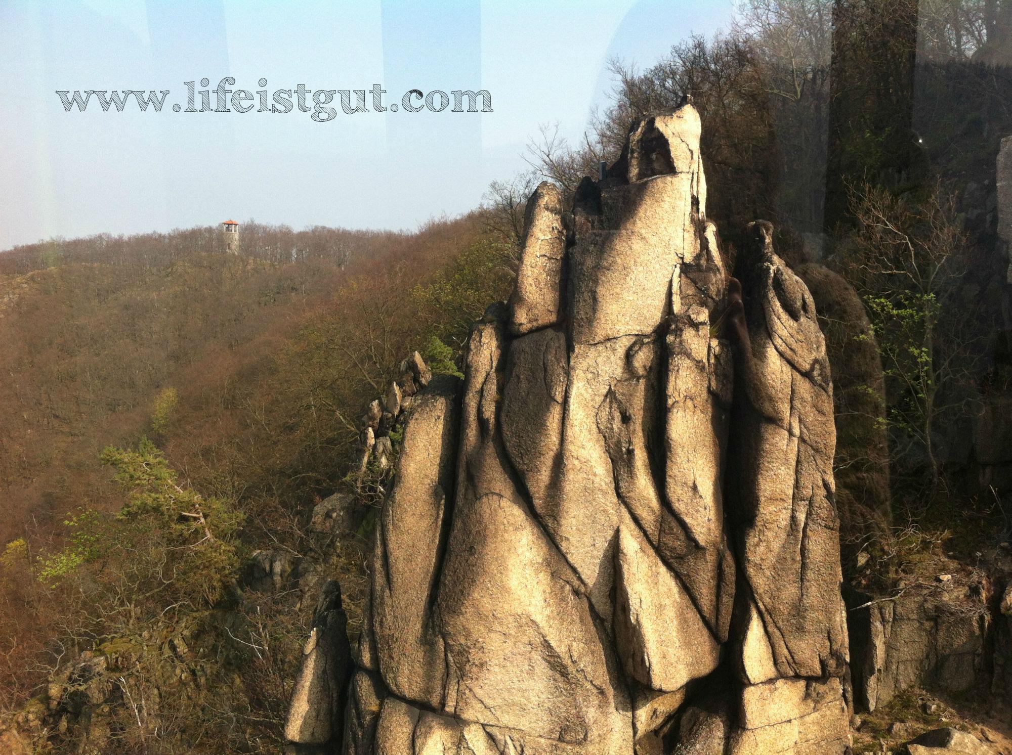 Национальный парк Гарц ущелье