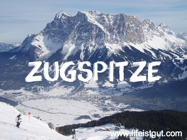 Zugspitze На Новый год 2016 в Германию
