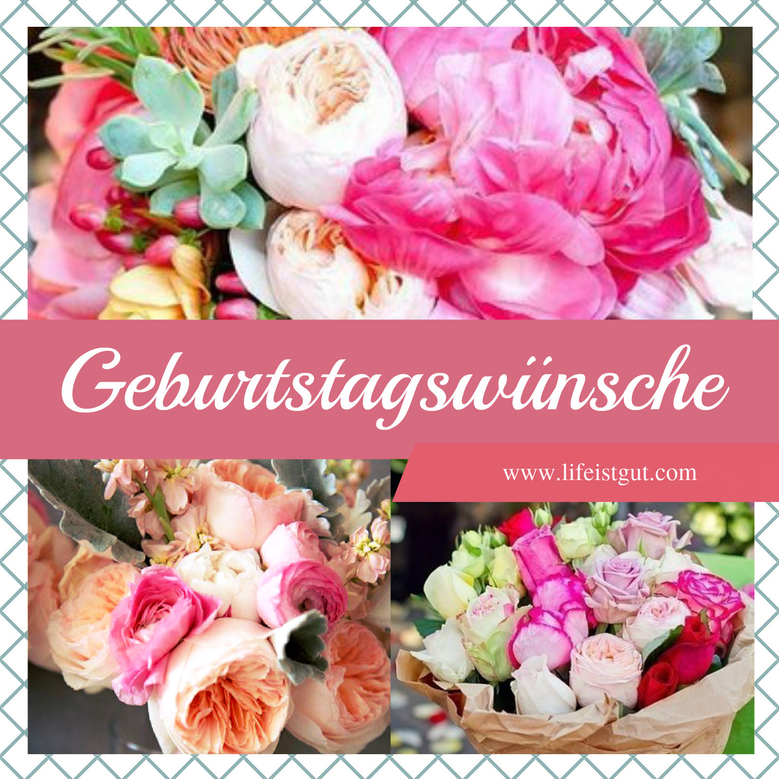 Поздравления с днем рождения на немецком языке! Geburtstagswünsche