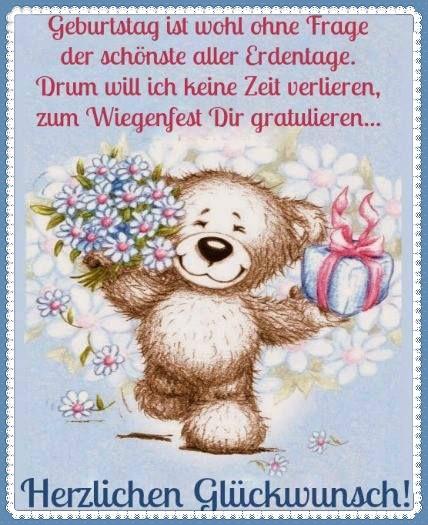 поздравления с днем рождения Alles Liebe zum Geburtstag!