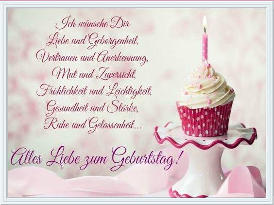 немецкие поздравления с днем рождения