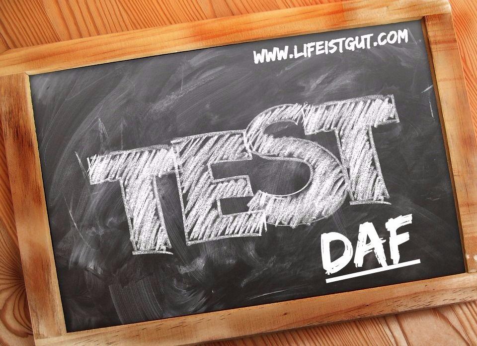 Про экзамен DaF